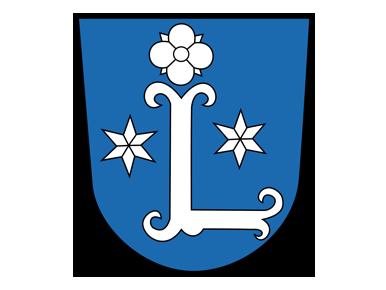 Das Logo der Stadt Leer mit Stadtwappen