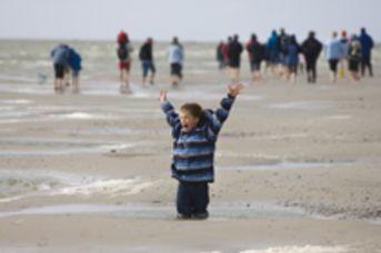Wattwanderung für Kinder. Bitte anmelden!