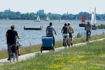 Tagestour auf der Dollard Route - Rund um das Oldambtmeer und am Dollart entlang