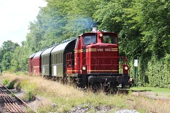 Mit der Museumseisenbahn die historische Küstenbahn erleben