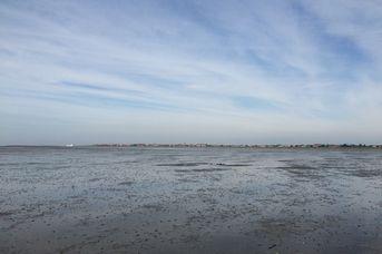 Baltrum bei Ebbe und Flut