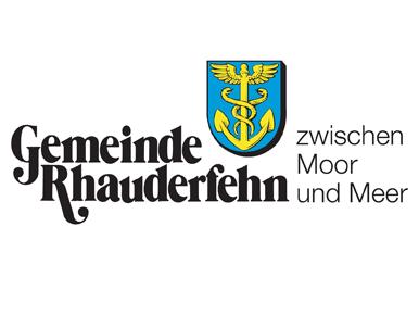 Grafik des Logos der Gemeinde Rhauderfehn